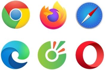 Các loại trình duyệt phổ biến nhất dùng duyệt web