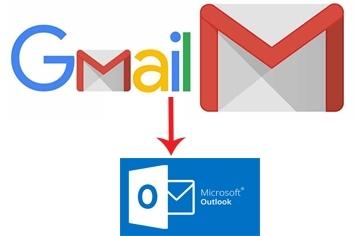 Cách cài gmail vào outlook