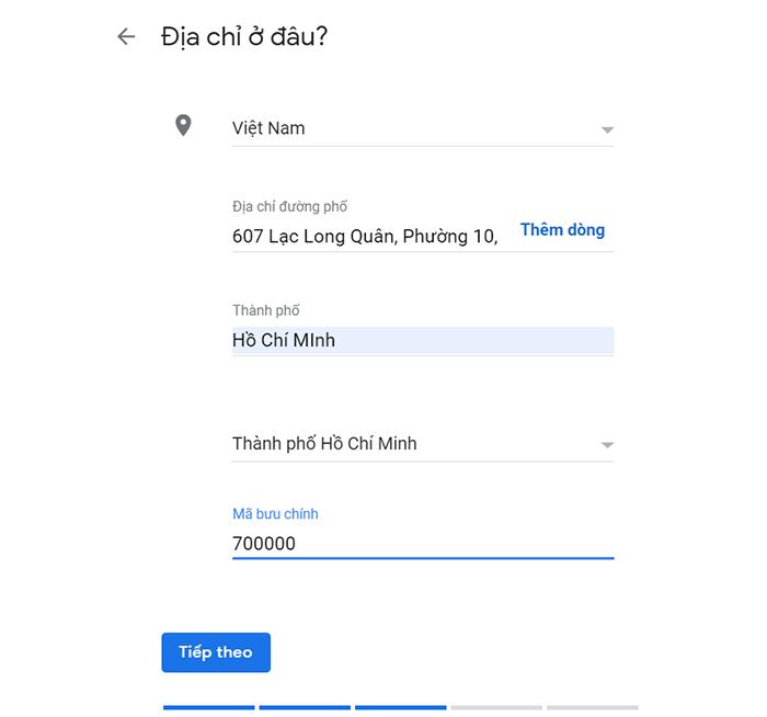 đưa lên google map