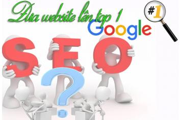 Làm Sao Để Website Lên Trang Đầu Google?