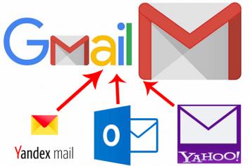 Sử dụng Gmail để gửi và nhận mail không phải của google
